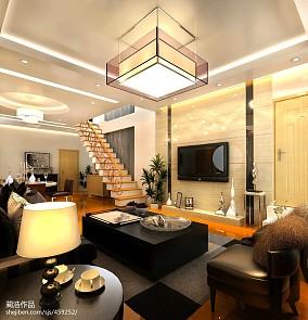 精选美式风格复式楼装修设计图