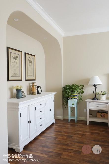 质朴48平地中海复式卧室设计美图卧室1图