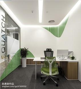 办公室室内装饰案例