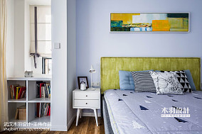 大小84平混搭二居卧室实景图片大全二居潮流混搭家装装修案例效果图