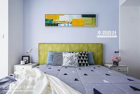 精美面积74平混搭二居卧室实景图二居潮流混搭家装装修案例效果图