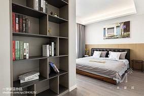 精选大小101平北欧三居卧室装修实景图片大全三居北欧极简家装装修案例效果图