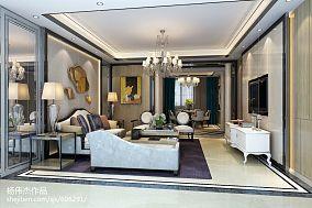 精美面积123平东南亚四居装修设计效果图片