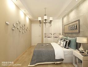 纯白色调舒适二居室装修效果图