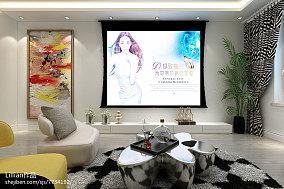 精选72平米小户型客厅装修实景图