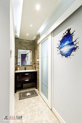 精美面积85平现代二居卫生间装饰图片大全