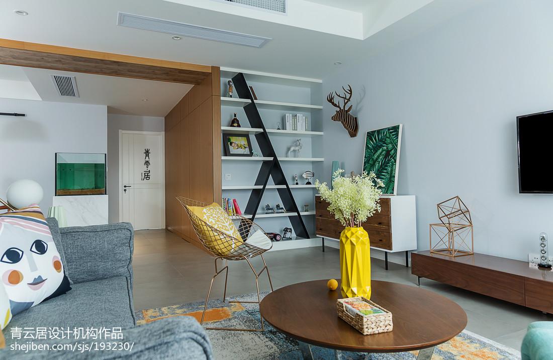 大小83平混搭二居客厅装饰图片欣赏客厅
