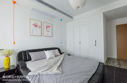 温馨69平混搭二居卧室案例图卧室