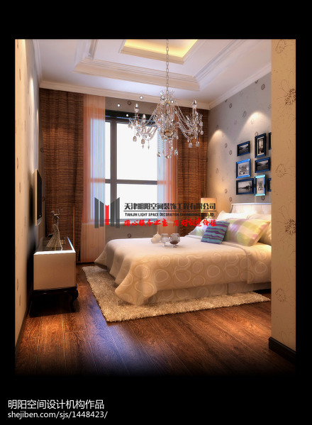温馨462平欧式别墅卧室装修美图卧室