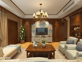悠雅230平美式别墅卧室设计案例