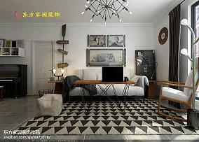 中式三居装修图片大全