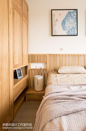 2018精选面积70平混搭二居卧室装修效果图片欣赏