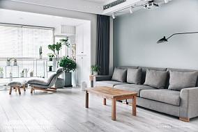 2018精选面积85平北欧二居客厅装修效果图片大全