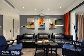 精美面积135平现代四居客厅设计效果图