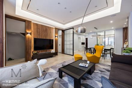 350 m² 现代台湾风背景墙设计图