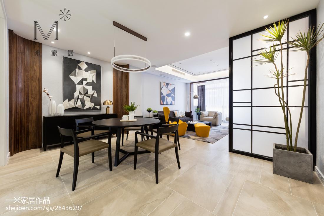 144平米现代别墅餐厅装修设计效果图片欣赏厨房现代简约餐厅设计图片赏析