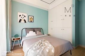 350 m² 现代台湾风儿童房设计图