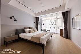 350 m² 现代台湾风卧室装修设计图