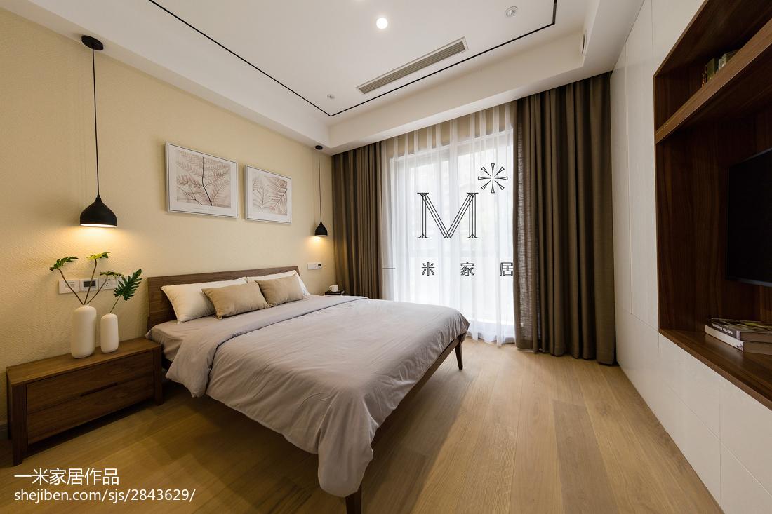 350 m² 现代台湾风卧室装修效果图