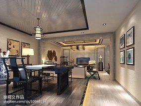 108平米三居室平面户型图