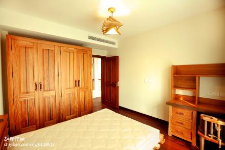 浪漫119平北欧三居卧室设计图卧室