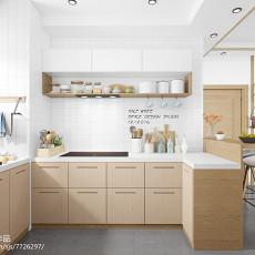 82平米二居厨房日式装修效果图片大全