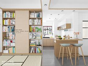 精选日式二居厨房装修欣赏图片