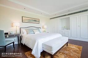 2018面积99平新古典三居卧室欣赏图片