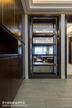 精选中式四居玄关装修设计效果图片欣赏