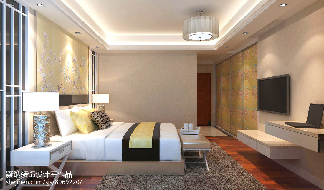 床头灯系列之风水有何讲究 卧室床头灯如何巧妙布局
