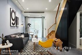 精选141平米简约复式客厅效果图片欣赏