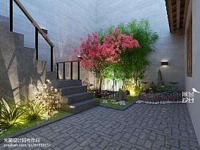 精选中式二居花园实景图片欣赏121-150m²二居中式现代家装装修案例效果图