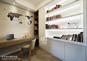 宜家风格简约书房装修效果图