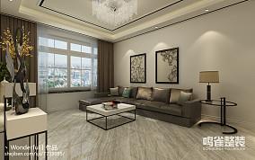 悠雅56平现代二居装饰图