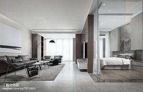 热门大小101平现代三居客厅装饰图