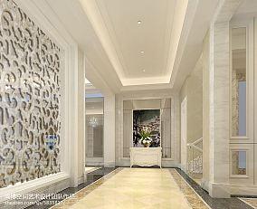 精选124平米欧式别墅过道装饰图