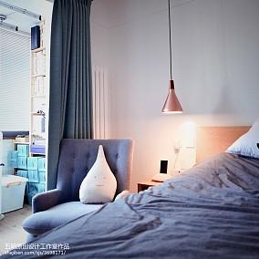 热门日式小户型卧室装修实景图