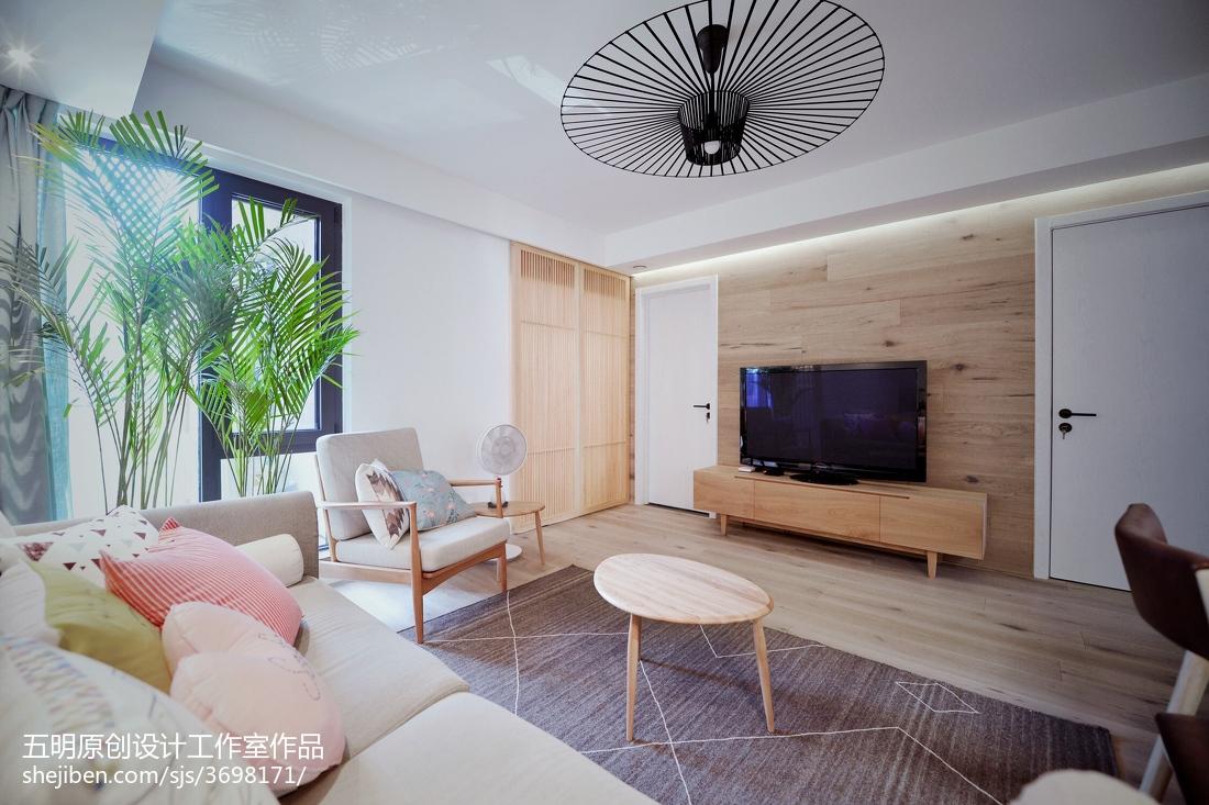 精美小户型客厅日式装修实景图客厅日式客厅设计图片赏析