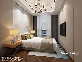 2018精选129平米现代别墅卧室欣赏图片大全