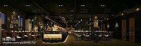 时尚咖啡厅吊顶图片