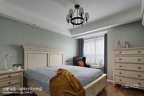 2018面积94平简约三居卧室实景图片