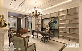 悠雅28平混搭小户型客厅装修案例