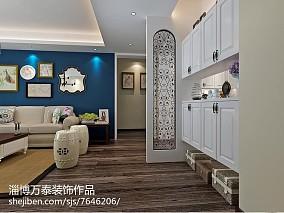 平米三居客厅简欧实景图151-200m²三居欧式豪华家装装修案例效果图