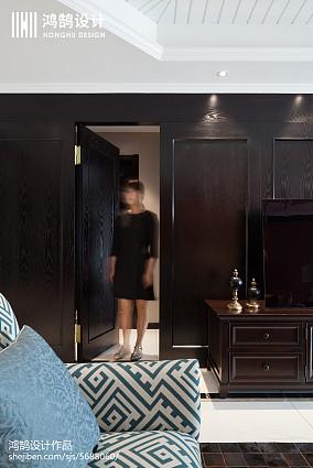 精选96平米三居卧室美式效果图片欣赏
