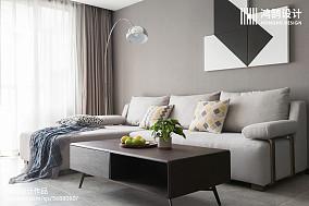 精美75平米二居客厅现代装修效果图片欣赏