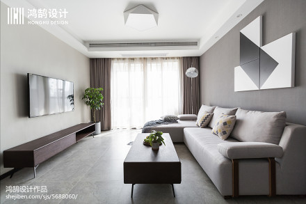 精选现代二居装修图片欣赏客厅