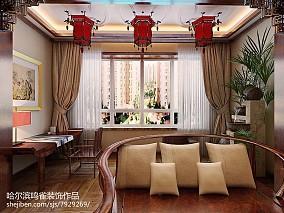大客厅中式简约风格