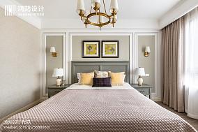 明亮97平美式四居装饰图四居及以上美式经典家装装修案例效果图