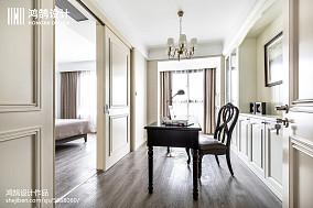 典雅91平美式四居装修图四居及以上美式经典家装装修案例效果图
