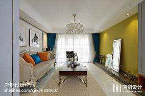 精美105平客厅三居现代装修欣赏图片大全